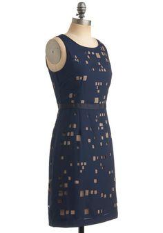 Chic Cityscape Dress