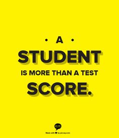 "The following true story made the rounds in social media this fall, but I wanted to share it with you now in the spring as so many of us suffer through ""testing season"" and anxiously await the return of standardized test scores. An elementary school principal sent this message to all her students during the week …"