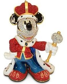 King Mickey Mouse Figurine by Arribas Brothers Official Disney Store