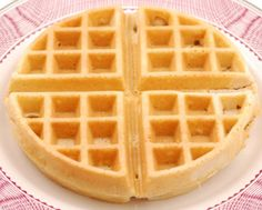 A good friend gave me this recipe and it produces a waffle that is more substantial. Its not super light and fluffy like other recipes. They are more like Eggo waffles (in terms of texture, not sweetness). Makes 16 (4 1/2 X 4) waffles. When preparing them for freezing, I undercook them slightly, so they dont burn in the toaster.