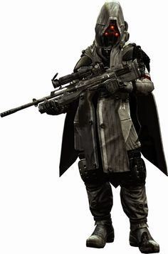 soldier laser rifle female - Google Search