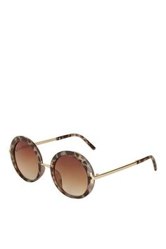 b2014af8e44f Lakota  60s Round Sunglasses. Tortoise Shell Sunglasses ...