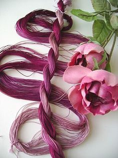 """Olde Rose"" Tatting Thread"