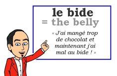 Le mot (familier) du jour : « le bide » [bid] #fle #Expressionoftheday #learnfrench #francais Les Machin (@Les_Machin) | Twitter