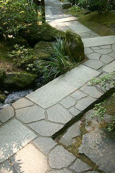Intriguing asymmetrical path.path