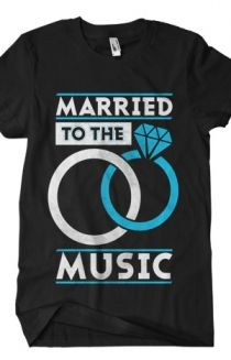 Married To The Music T-Shirt - Bryan Stars T-Shirts - Online Store on District Lines