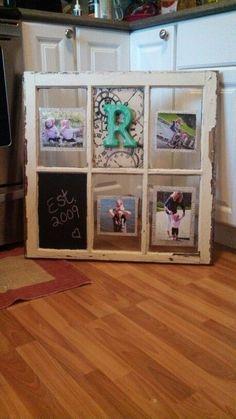 Old window photo display by batjas88