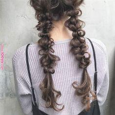 """谷本翔太さんはInstagramを使っています: """"ツインニットキット##... Kawaii Hairstyles, Messy Hairstyles, Pretty Hairstyles, Hair Arrange, Hair Setting, Hair Reference, Hair Looks, Hair Trends, Hair Inspiration"""
