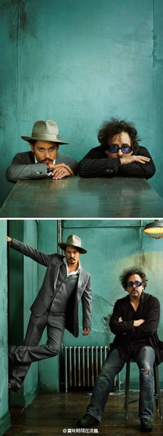 J Depp + T Burton- another dynamic duo