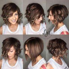 Cute Short Bob Haircuts for 2018