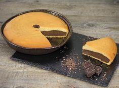 Gâteau nature intérieur au chocolat
