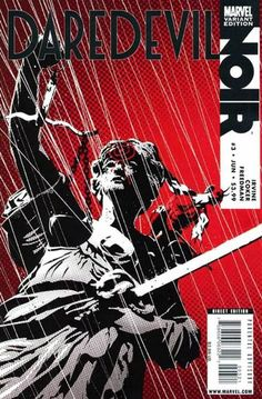 Daredevil: Noir # 3 (Variant) by Dennis Calero