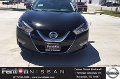 https://flic.kr/p/GS5nnh | NEW 2016 Nissan Maxima platinum! | NEW 2016 Nissan Maxima platinum! Black exterior with charcoal leather interior. Navigation with voice recognition, around view monitor with moving object detection, zero gravity front seats, Bose sound system. LOADED! Call or text Ben @ 214-226-4025 Fenton Nissan of Rockwall RockNissan.com
