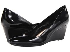 Calvin Klein Calvin Klein  Saxton Patent Patent Womens Wedge Shoes for 69.99 at Im in! #sale #fashion #I'mIn