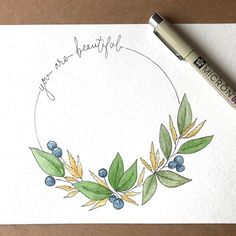 Instagram Watercolor And Ink, Watercolor Illustration, Watercolor Flowers, Watercolour Painting, Painting & Drawing, Watercolors, Handlettering, Art Challenge, Watercolor Techniques
