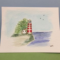 Just a simple watercoloring for day 9 of #thedailymarker30day @artimpressions It will make a nice birthday card for my July son. #artimpressionsstamps #cardmaker #aistamps