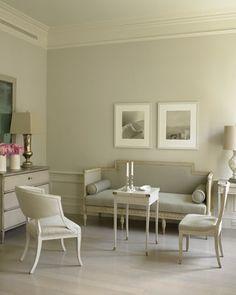 Eric Pike's serene living room