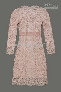 Pink lace Kate Middleton dress.