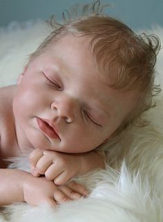 Beautiful Reborn Baby Girl Doll Indra, Full Soft Vinyl, Reva Schick