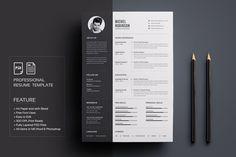 Resume/CV by deviserpark on @creativemarket