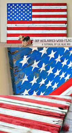Pallet Furniture Flag