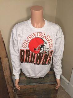vintage cleveland browns sweatshirt