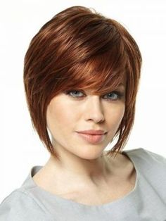 Brown Short Hairstyles for Oval Faces