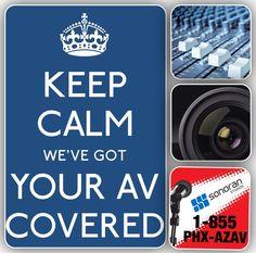 AV company located in Phoenix, Arizona. Sonoran Audiovisual • (602) 283-4440 • 1-855-PHX-AZAV • av@sonoranstudios.com • www.sonoranstudios.com