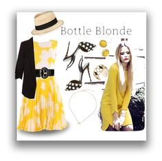 """Bottle Blonde"" by designed-4-life ❤ liked on Polyvore featuring Eugenia Kim, Giuseppe Zanotti, Karen Millen, Rebecca Minkoff, Kendra Scott and Kate Spade"