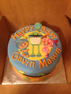 - Team umizoomi birthday cake