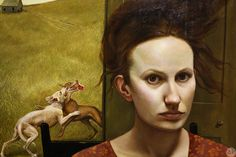 Andrea Kowch The Feast - detail