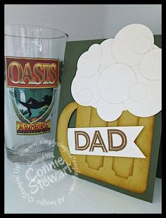 Cheers to Dad - www.SimplySimpleStamping.com