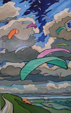 Paragliding Ascending