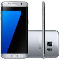 Smartphone Samsung Galaxy S7 Edge 32GB Prata 4G - Câm. 12MP + Selfie 5MP Tela…