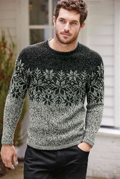 Buy Grey Snowflake Christmas Jumper online today at Next: Israel
