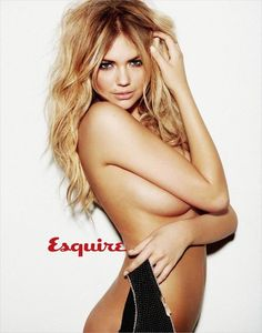 Hair Lust: Kate Upton. Bright blonde with dark roots. March 2012: Esquire: Source: Models.com