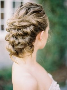 Elegant Hairstyle (photo by Katie Grant Photo)