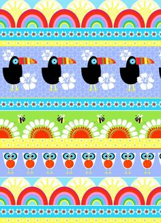 Sew Scrumptious Fabrics - Studio e - Sunshine Day - Birds