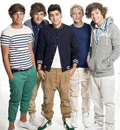 One Direction!! Who doesn't love them? Really.
