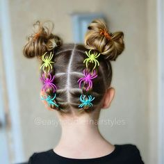 25 Easy Wacky Hairstyles for School Girl – Short Pixie Cuts 25 Easy Wacky Hairstyles for School Girl, Below, I have compiled 25 easy and wacky hairstyles for . Crazy Hair Day At School, Crazy Hair Days, Crazy Hair Day Girls, Crazy Hair For Kids, Crazy Girls, Girls School Hairstyles, Baby Girl Hairstyles, Little Girl Short Hairstyles, Holiday Hairstyles