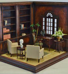 1/6 Scale Corner Room Box/Diorama
