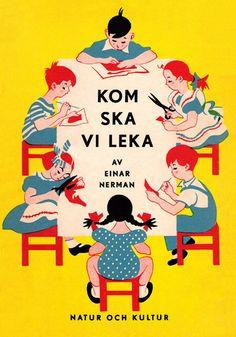 Einar Nerman, Kom Ska Vi Leka. Sweden, 1950