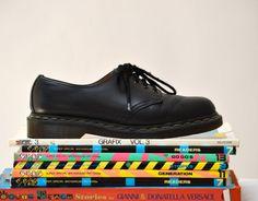 Amazing 90s Black Dr. Martens Size 9 Women// by Hookedonhoney