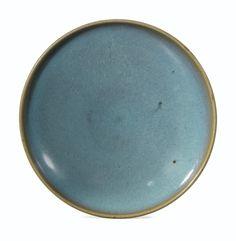 Sotheby's 10 June 2014 Paris.  A 'JUN' DISH, SONG DYNASTY l'exterieur et l'intérieur recouverts d'une épaisse glaçure bleu lavande allant en s'éclaircissant sur les bords 15,3 cm, 6 in.