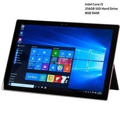 Microsoft Surface Pro 4 Tablet in Silver i5 256GB | Buy Windows Tablets