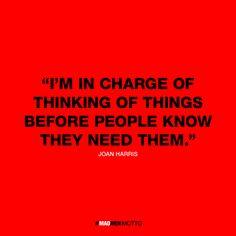 MadMen - best quotes or motto via llllitl blog #advertising #punchline #publicité Don-Draper Roger-Sterling Pete-Campbell Peggy-olson #QOTD