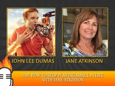 1160: How to stop playing small in life with Jane Atkinson