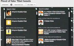 'Robôs' inundam Twitter para esconder protestos no Tibete