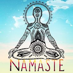 'NAMASTE', the light in me recognizes the light in you.