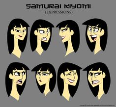 How to Carve Roast Unicorn: SAMURAI KIYOMI (FEMALE SAMURAI JACK CONCEPT)